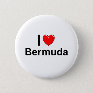 Badge J'aime le coeur Bermudes