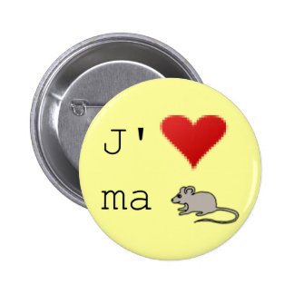 Badge J'aime ma souris