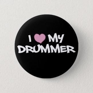 Badge J'aime mon batteur