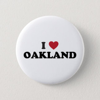 Badge J'aime Oakland la Californie