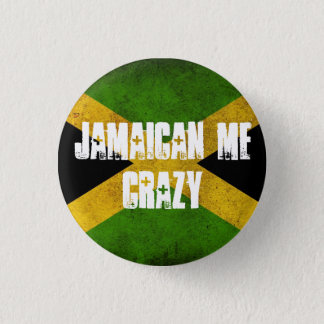 Badge Jamaïcain je fou