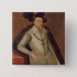 Badge James I de l'Angleterre, et VI de l'Ecosse