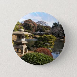 Badge Jardin de zen à Tokyo, Japon