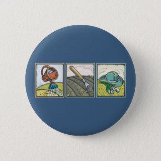 Badge Jardinage