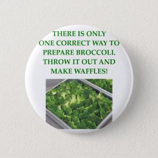 Badge je déteste le brocoli