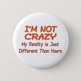 Badge Je ne suis pas les boutons fous