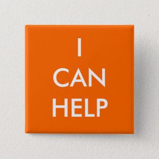 Badge Je peux aider les événements volontaires de