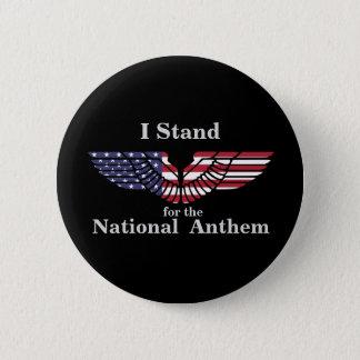 Badge Je représente l'hymne national