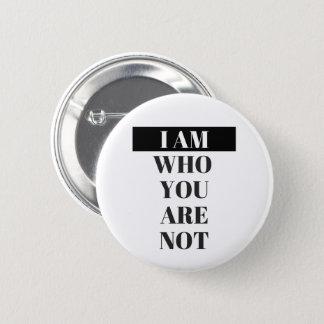 "Badge ""Je suis"" bouton"