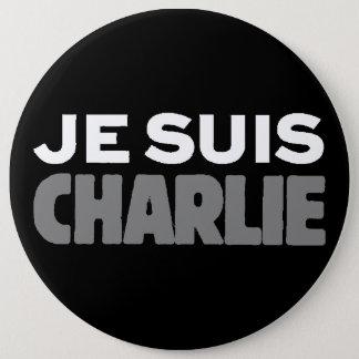 Badge Je Suis Charlie - je suis noir de Charlie