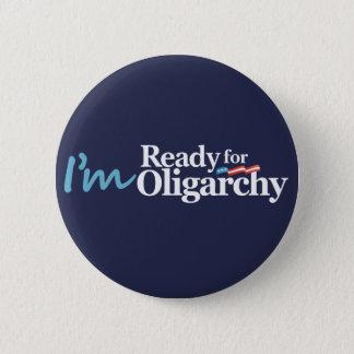 Badge Je suis prêt pour la parodie de Hillary