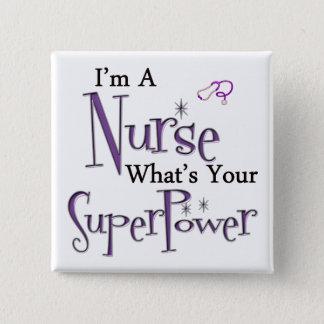Badge Je suis une infirmière