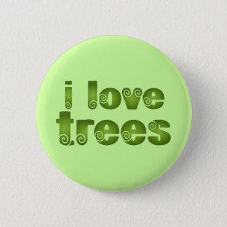 Badge Je T-shirts de cadeau d'arbres d'amour