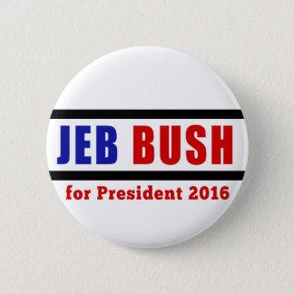Badge Jeb Bush pour le président en 2016