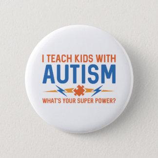 Badge J'enseigne des enfants avec l'autisme