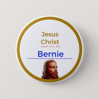 Badge Jésus pour Bernie