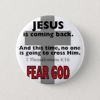 Badge Jésus revient