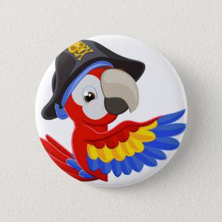 Badge Jeter un coup d'oeil le perroquet de pirate de