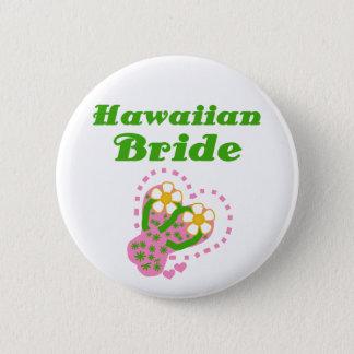 Badge Jeune mariée hawaïenne