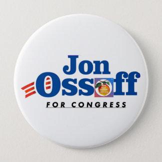 Badge Jon Ossoff pour le #VoteYourOssoff de bouton du