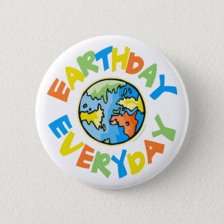 Badge Jour de la terre chaque jour