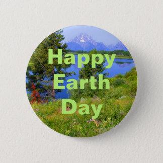 Badge Jour de la terre heureux