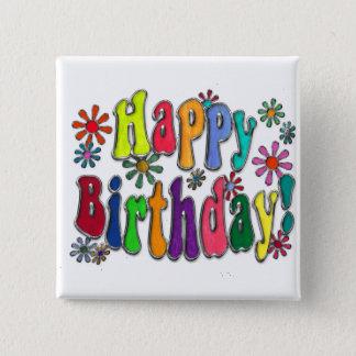 Badge Joyeux anniversaire