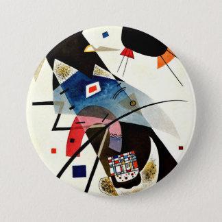 Badge Kandinsky - deux taches noires
