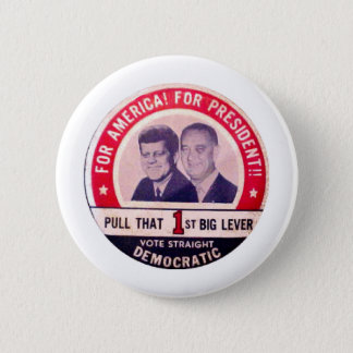 Badge Kennedy et campagne de Johnson