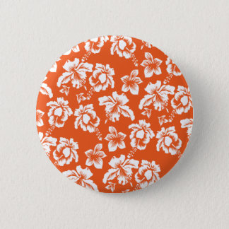 Badge Ketmie hawaïenne orange
