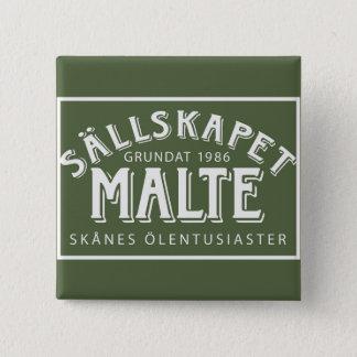 Badge Knapp med logotyp