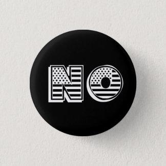 Badge La bannière étoilée marque l'AUCUN résiste à la