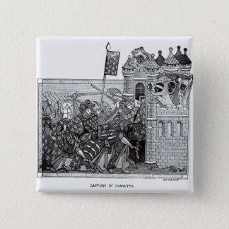 Badge La capture de Damiette en 1249