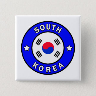 Badge La Corée du Sud