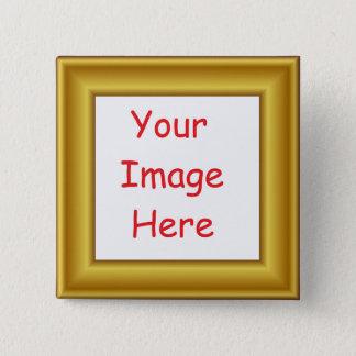 Badge La coutume a personnalisé le cadre pré imprimé