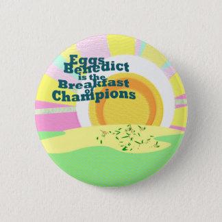 Badge La fusée de serveuse Eggs des ventes de petit