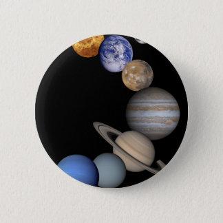 Badge La gamme de système solaire nos planètes