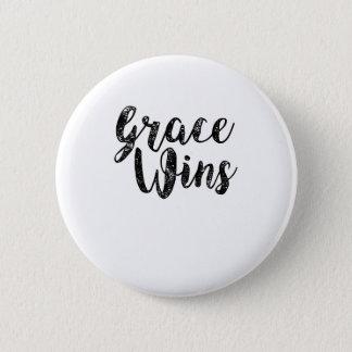 Badge La grâce gagne la paix inspirée de Jésus de