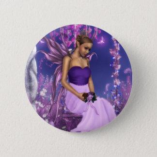Badge La jeune mariée féerique du ressort