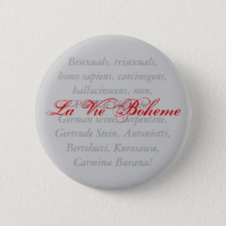Badge La La luttent Boheme