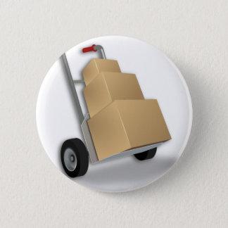 Badge La livraison de camion de main