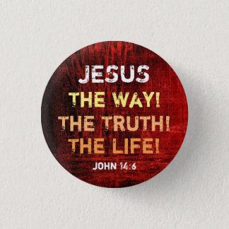 Badge La manière la vérité la vie