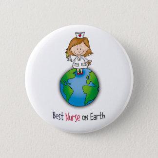 Badge La meilleure infirmière sur terre - jour