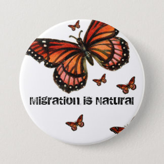 Badge La migration est monarque naturel