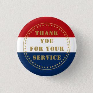 Badge La police militaire de vétéran de service actif