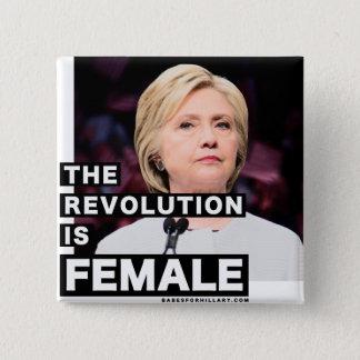Badge La révolution est femelle