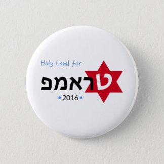Badge La Terre Sainte pour le bouton d'atout