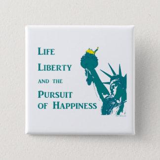 Badge La vie et liberté