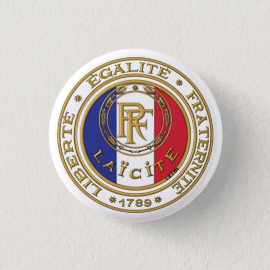badge laïc français