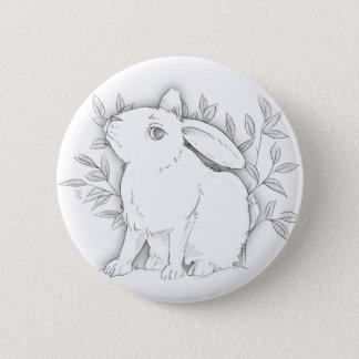 Badge lapin croisé